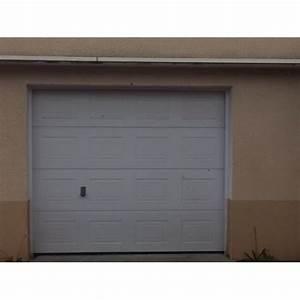 porte de garage sectionnelle tubauto avec motorisation europro With point p porte de garage
