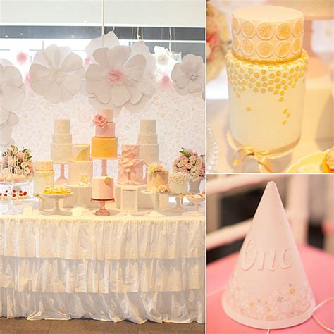 Pink And Gold 1st Birthday Decorations by A Pretty In Pink And Gold Birthday It S