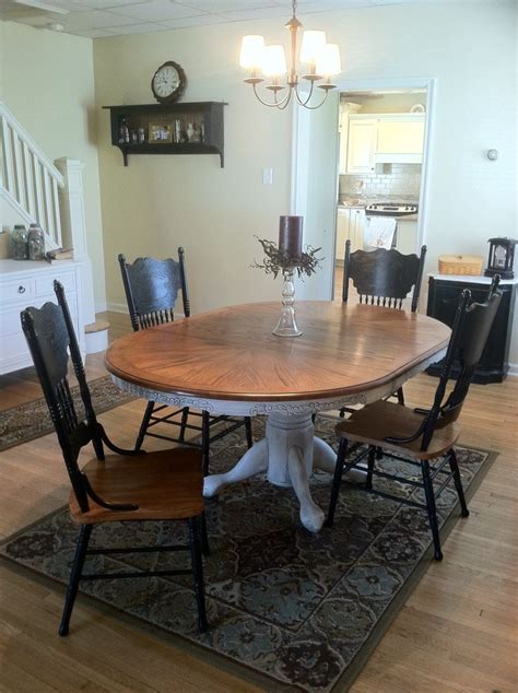 pressback chairs and table pin by camille fair on furniture redo ideas