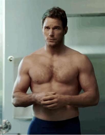 Pratt Chris Gifs Michelob Shirtless Super Commercial