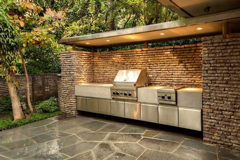 grill enclosures outdoor kitchens usa pavers  tampa