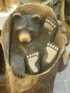 24 best images about Chainsaw Carving-Favorite Bear ideas
