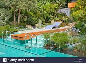 Gartengestaltung Mit Pool : moderne gartengestaltung mit einem swimming pool im ~ A.2002-acura-tl-radio.info Haus und Dekorationen