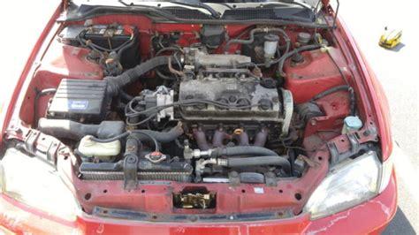 1992 Honda Civic Vx. Stock D15z1 Vtec-e Engine & Federal