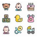 Shower Icons Boy Vector Kawaii Science Clipart