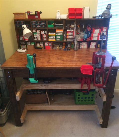 reloading bench ideas building a reloading workbench do s don ts