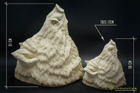 Taxidermy Home Decor: Wild Boar Animal Head Faux Taxidermy Wall-mounted