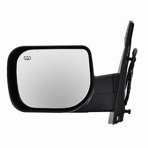 Mirror Qx56 Power Heated Memory Black Textured Mirror Left
