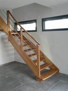 Escalier En U : escaliers contemporains l 39 atelier du tregor ~ Farleysfitness.com Idées de Décoration