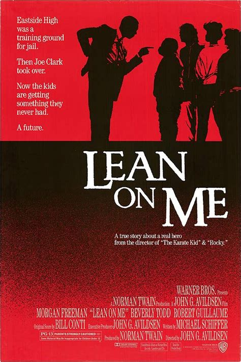 Le Nã On by Lean On Me Movie Posters At Movie Poster Warehouse