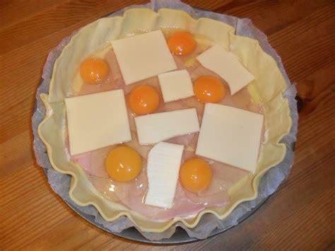 ma p tite cuisine by tourte feuilletée aux oeufs sur jambon ma p 39 tite