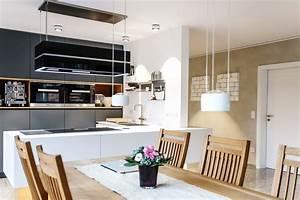 Küche Renovieren Fronten : renovierung offene k che mit grauen fronten raumfabrik m nster ~ Pilothousefishingboats.com Haus und Dekorationen