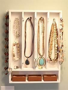 Idée Rangement Bijoux : le porte bijoux mural une d co pratique et belle idee deco pinterest ~ Melissatoandfro.com Idées de Décoration