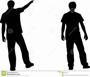 Two People Silhouette Stock Images - Image: 2022134