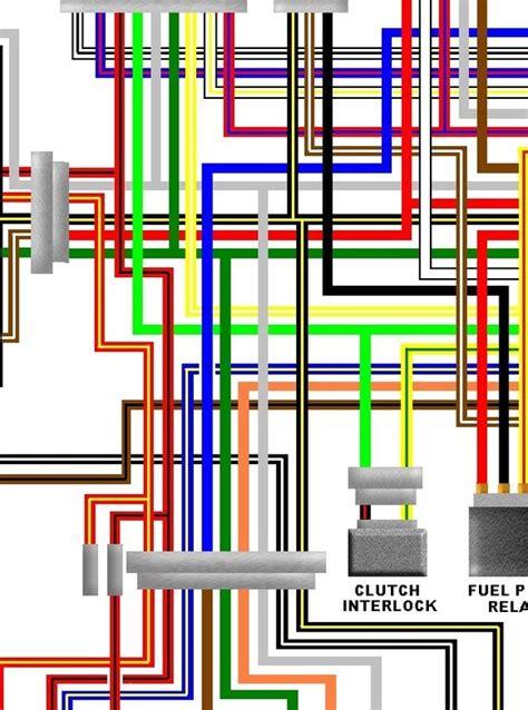 Kawasaki Zzr Colour Motorcycle Wiring Diagram