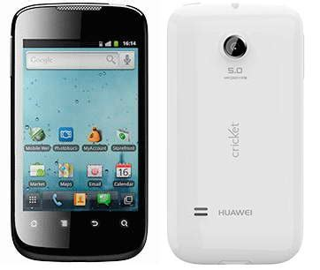 cricket wireless smartphones huawei ascend ii android pda gps wifi white phone cricket