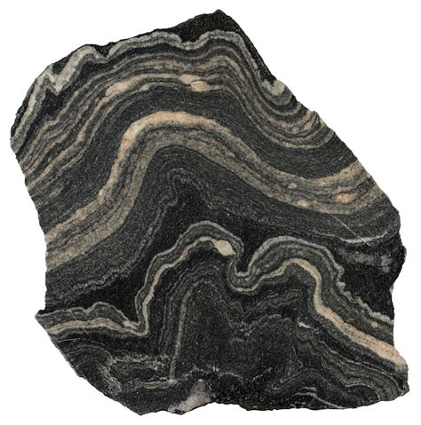 gneiss metamorphic rocks this folded migmatitic gneiss
