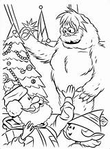 Snowman Abominable Drawing Coloring Sheet Getdrawings sketch template
