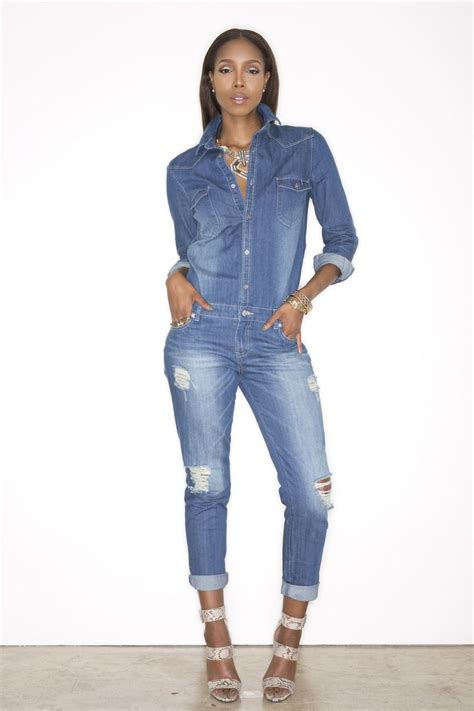 Jixer Denim Jumpsuit - If I was a super hero my outfit of choice would be a denim jumpsuit Tx ...