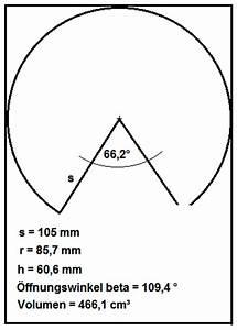 Durchmesser Aus Umfang Berechnen : maximales volumen aus kegel mathelounge ~ Themetempest.com Abrechnung