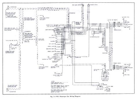 Chri Craft 350 Wiring Diagram by 1951 Chevrolet Wiring Diagram