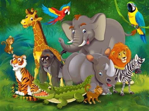 Childrens Animal Wallpaper - jungle wallpaper we make children interior design