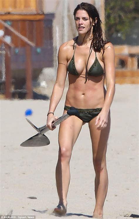 ashley williams swimsuit ashley greene shows off her incredibly toned bikini body