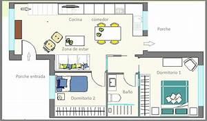 Planos de casa de 50 metros cuadrados