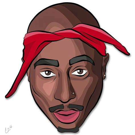 Tupac Shakur Vector By Cameronzimos On Deviantart