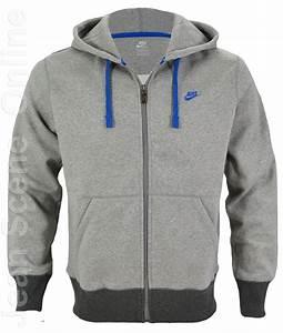 New Nike Mens Full Zip Hooded Jacket Sweatshirt Fleece