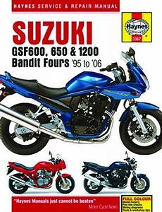 Suzuki Gsf600 Haynes Repair Manual  1995 - 2006