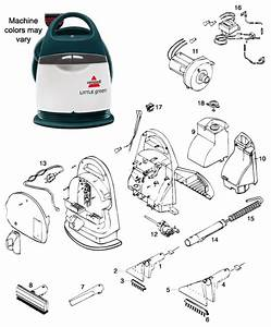 Bissell Little Green Clean Machine Instructions