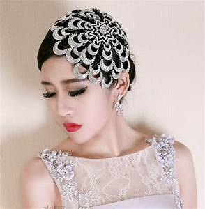 Buy Wholesale Wedding Exaggerated Headdress Jewelry Cobweb