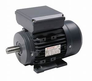 U0026quot Tec Single Phase 230v Electric Motor  0 25kw 4 Pole 1500rpm With Foot Mount