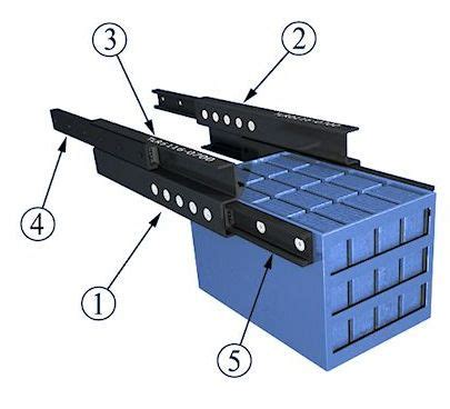 bottom mount drawer slides high capacity telescopic sytems by tpa