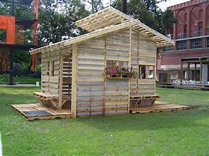 fabriquer un abri de jardin avec des palettes With fabriquer une cabane de jardin