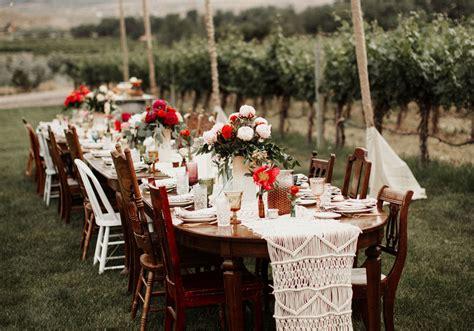 table de mariage  idees deco dignes de ce grand jour
