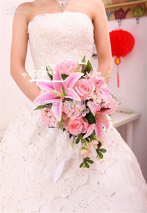 Wedding Bouquet Bride Bouquet Artificial Wedding Bouquets Silk Flower Bridal Bouquet Lily