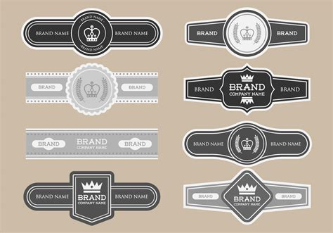cigar label template cigar label template best and professional templates