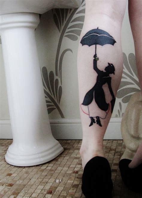 mary poppins leg tattoo  tattoo design ideas