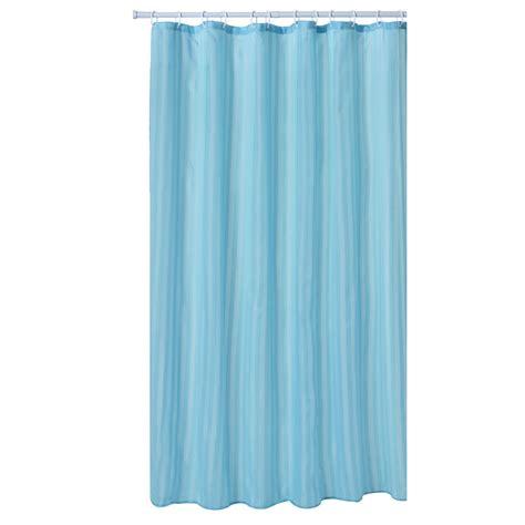 aqua curtains wilko satin stripe shower curtain aqua at wilko com