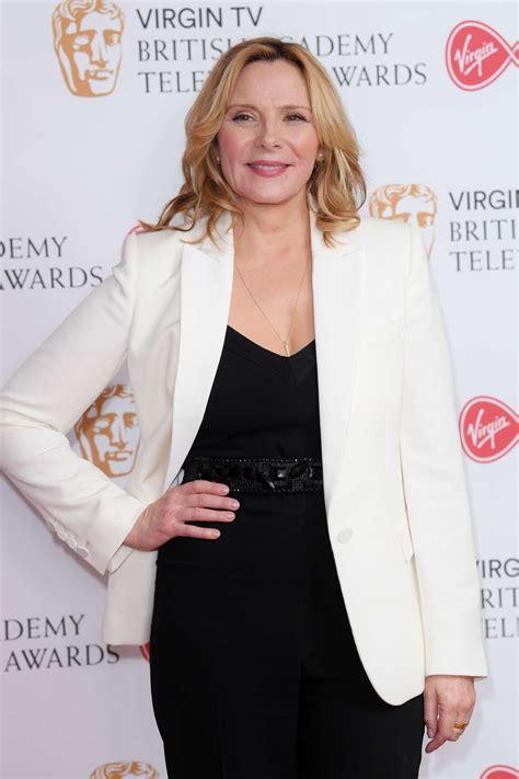 kim cattrall british academy television awards