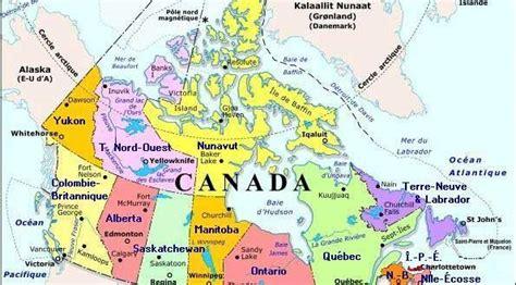 Carte Du Canada Avec Villes by Carte Du Canada Avec Villes 187 Vacances Arts Guides Voyages