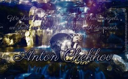 Chekov Anton Shall Hear Angels Quote Px