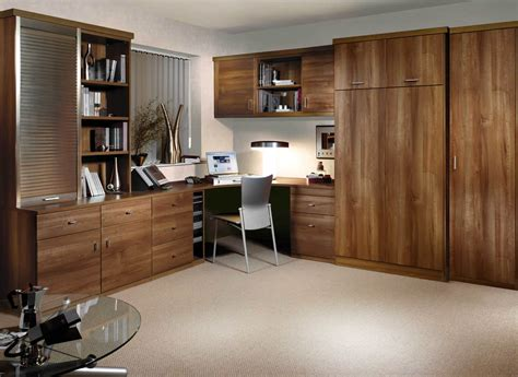 Study Bedrooms  Fitted Home Office Bedroom Combinations Strachan