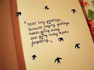 Which movie is ... Classic Goodbye Quotes