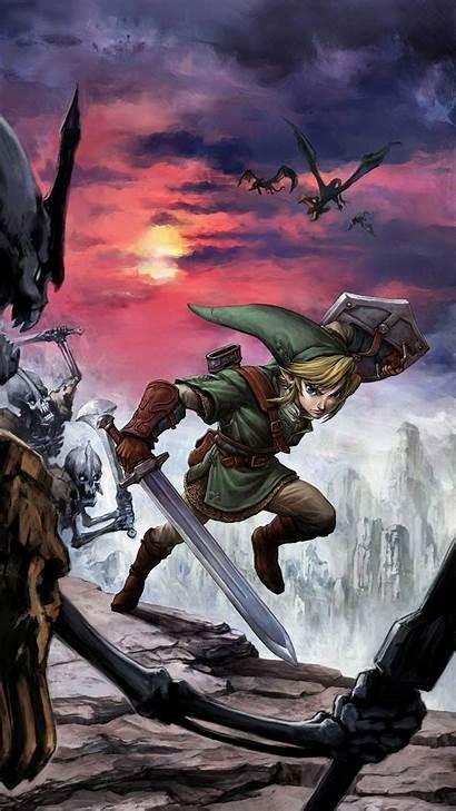 Zelda Phone Legend Wallpapers Mobile Nadyn источник