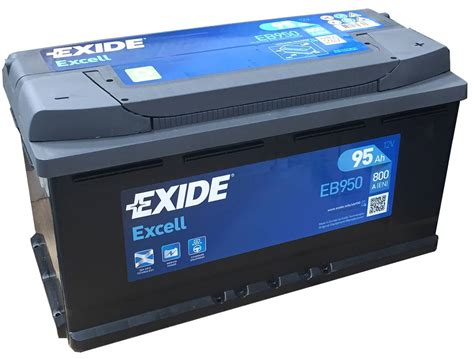 Eb950 Exide Excell Car Battery 017se