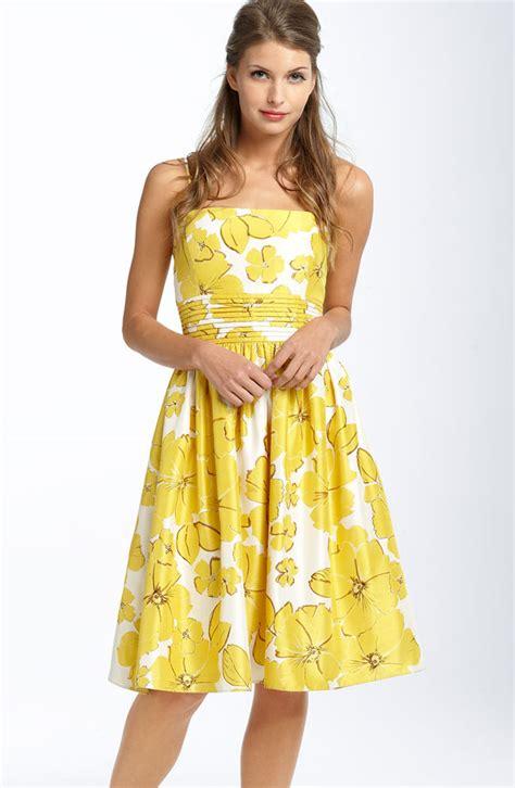 Yellow Summer Dress  Fashion Week Collections u2013 Fashion Gossip