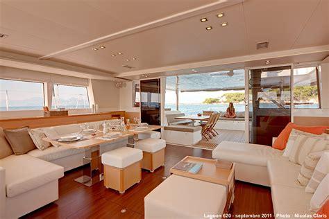 Catamaran Interior by Lagoon 620 Catamaran Interior Yacht Charter Superyacht